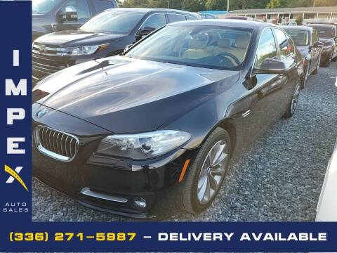2016 BMW 5 Series for sale at Impex Auto Sales in Greensboro NC