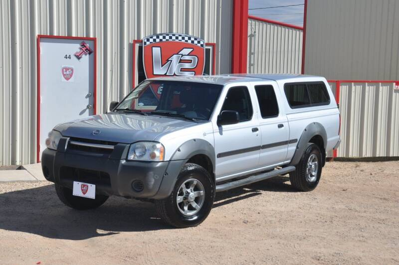 2002 Nissan Frontier for sale at V12 Auto Group in Lubbock TX