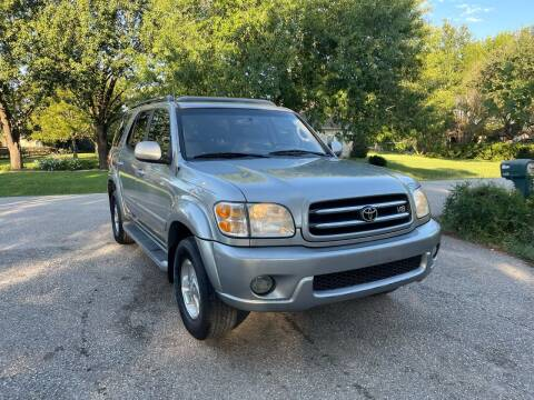 2002 Toyota Sequoia for sale at CARWIN MOTORS in Katy TX