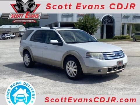 2008 Ford Taurus X for sale at SCOTT EVANS CHRYSLER DODGE in Carrollton GA