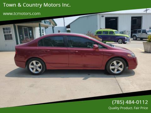 2008 Honda Civic for sale at Town & Country Motors Inc. in Meriden KS