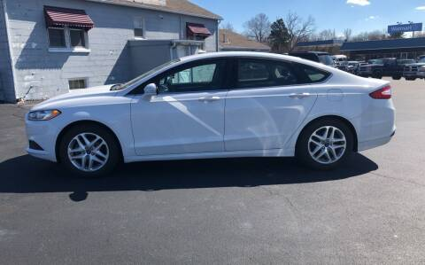 2015 Ford Fusion for sale at Village Motors in Sullivan MO