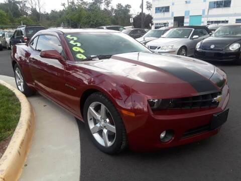 2012 Chevrolet Camaro for sale at M & M Auto Brokers in Chantilly VA