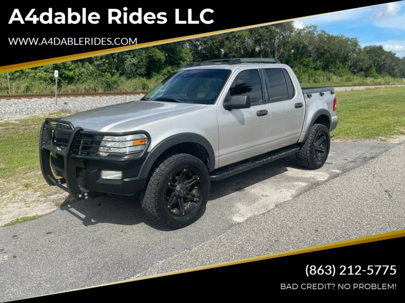 2008 Ford Explorer Sport Trac for sale at A4dable Rides LLC in Haines City FL