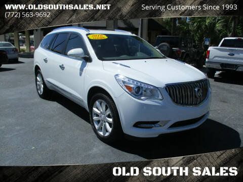2016 Buick Enclave for sale at OLD SOUTH SALES in Vero Beach FL