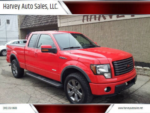 2011 Ford F-150 for sale at Harvey Auto Sales, LLC. in Flint MI