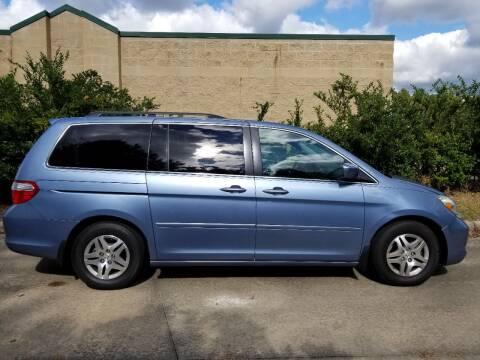 2007 Honda Odyssey for sale at Hollingsworth Auto Sales in Wake Forest NC