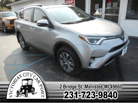 2017 Toyota RAV4 Hybrid for sale at Victorian City Car Port INC in Manistee MI
