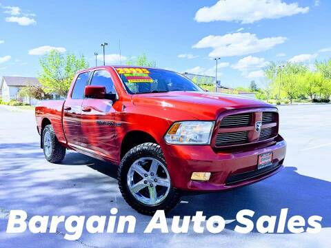 2012 RAM Ram Pickup 1500 for sale at Bargain Auto Sales LLC in Garden City ID