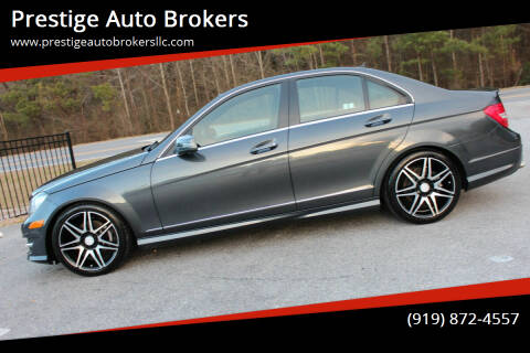 2014 Mercedes-Benz C-Class for sale at Prestige Auto Brokers in Raleigh NC