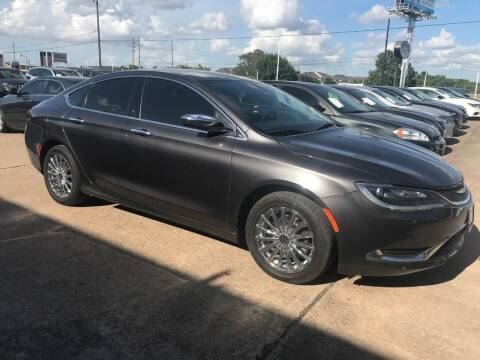 2016 Chrysler 200 for sale at Discount Auto Company in Houston TX