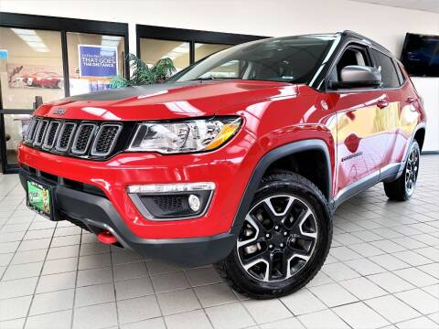 2019 Jeep Compass for sale at SAINT CHARLES MOTORCARS in Saint Charles IL
