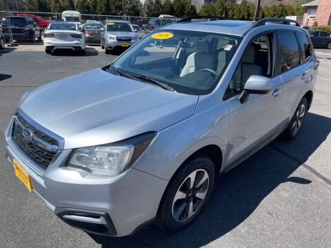 2018 Subaru Forester for sale at KINGSTON AUTO SALES in Wakefield RI