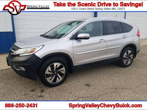 2015 Honda CR-V for sale at Spring Valley Chevrolet Buick in Spring Valley MN