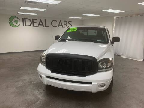 2007 Dodge Ram Pickup 1500 for sale at Ideal Cars Apache Junction in Apache Junction AZ