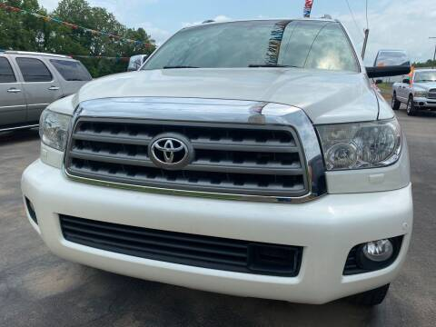 2014 Toyota Sequoia for sale at BEST AUTO SALES in Russellville AR