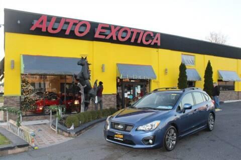 2013 Subaru Impreza for sale at Auto Exotica in Red Bank NJ