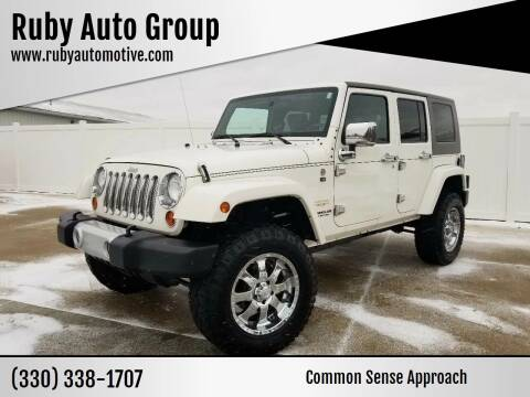 2010 Jeep Wrangler Unlimited for sale at Ruby Auto Group in Hudson OH