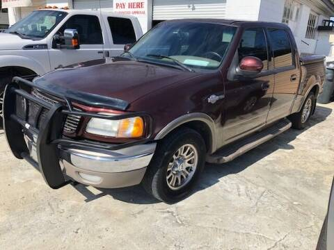 2001 Ford F-150 for sale at Harley's Auto Sales in North Augusta SC