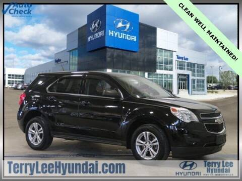 2012 Chevrolet Equinox for sale at Terry Lee Hyundai in Noblesville IN