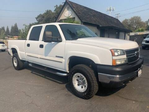 2007 Chevrolet Silverado 2500HD Classic for sale at Three Bridges Auto Sales in Fair Oaks CA