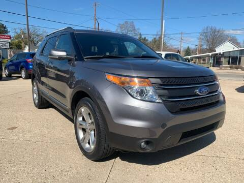 2013 Ford Explorer for sale at Auto Gallery LLC in Burlington WI