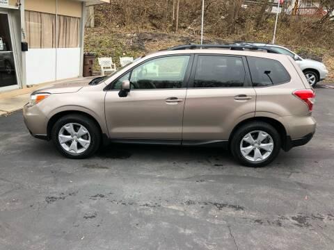 2015 Subaru Forester for sale at CHRIS AUTO SALES in Cincinnati OH