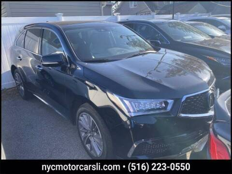 2018 Acura MDX for sale at NYC Motorcars in Freeport NY