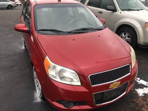 2009 Chevrolet Aveo for sale at Right Place Auto Sales in Indianapolis IN