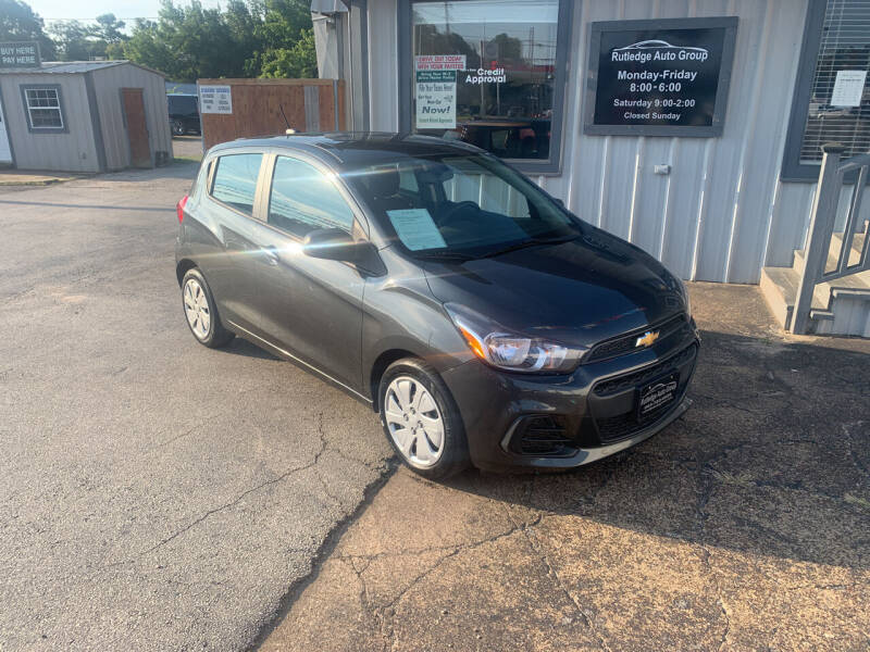 2017 Chevrolet Spark for sale at Rutledge Auto Group in Palestine TX