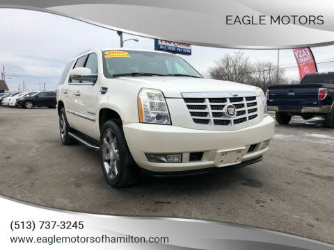 2007 Cadillac Escalade for sale at Eagle Motors in Hamilton OH