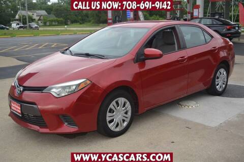 2016 Toyota Corolla for sale at Your Choice Autos - Crestwood in Crestwood IL