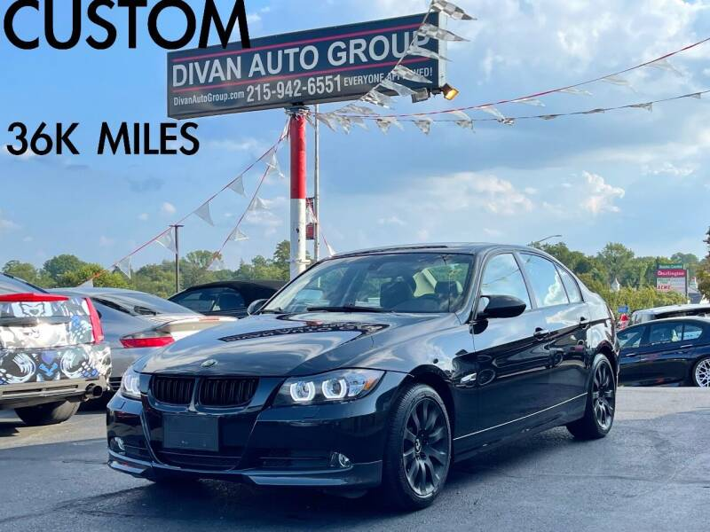 2008 BMW 3 Series for sale at Divan Auto Group in Feasterville Trevose PA