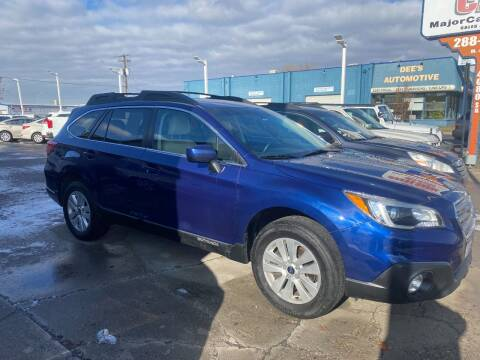 2016 Subaru Outback for sale at Major Car Inc in Murray UT