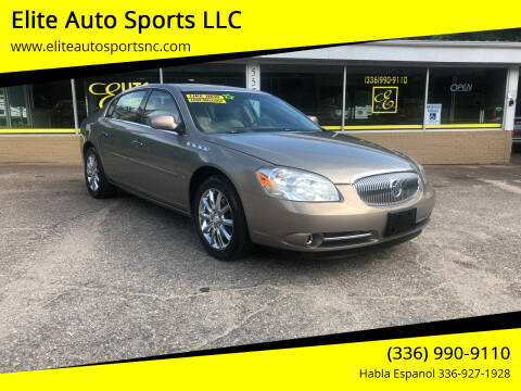 2007 Buick Lucerne for sale at Elite Auto Sports LLC in Wilkesboro NC