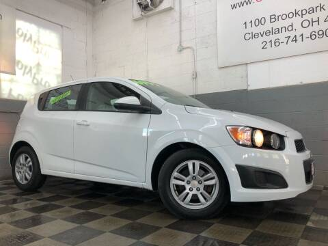 2012 Chevrolet Sonic for sale at County Car Credit in Cleveland OH
