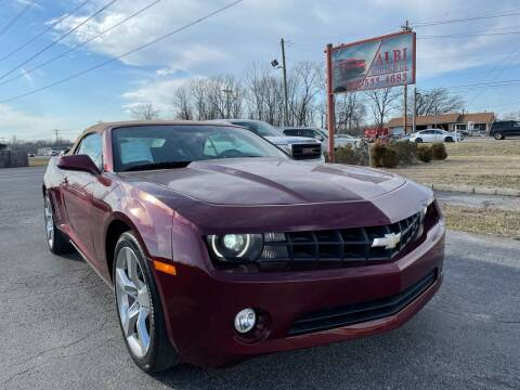 2011 Chevrolet Camaro for sale at Albi Auto Sales LLC in Louisville KY