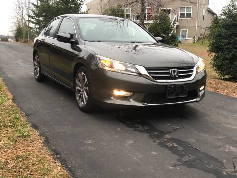 2013 Honda Accord for sale at Economy Auto Sales in Dumfries VA