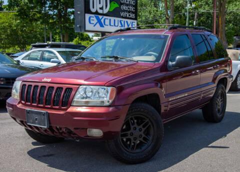 1999 Jeep Grand Cherokee for sale at EXCLUSIVE MOTORS in Virginia Beach VA