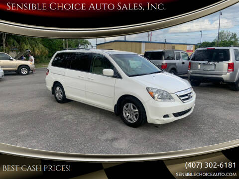 2007 Honda Odyssey for sale at Sensible Choice Auto Sales, Inc. in Longwood FL