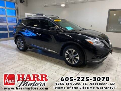 2017 Nissan Murano for sale at Harr's Redfield Ford in Redfield SD