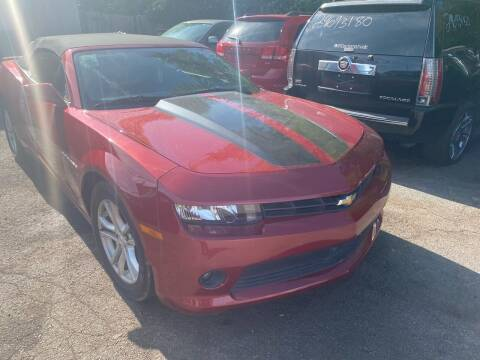 2015 Chevrolet Camaro for sale at Right Place Auto Sales in Indianapolis IN