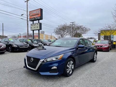 2020 Nissan Altima for sale at Autohaus of Greensboro in Greensboro NC