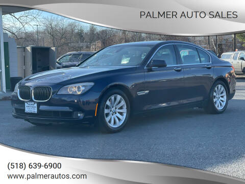 2011 BMW 7 Series for sale at Palmer Auto Sales in Menands NY
