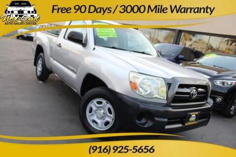 2007 Toyota Tacoma for sale at West Coast Auto Sales Center in Sacramento CA