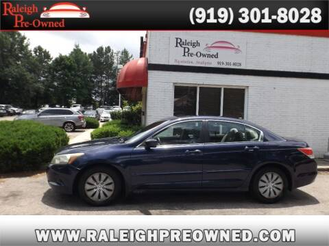 2008 Honda Accord for sale at Raleigh Pre-Owned in Raleigh NC