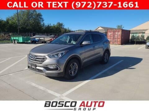 2017 Hyundai Santa Fe Sport for sale at Bosco Auto Group in Flower Mound TX