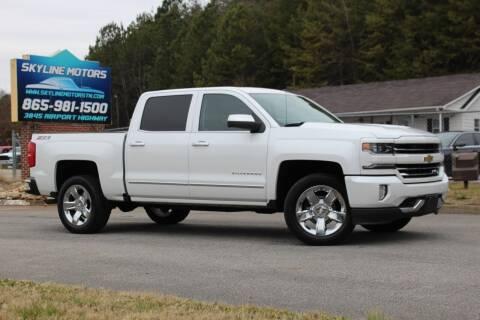 2016 Chevrolet Silverado 1500 for sale at Skyline Motors in Louisville TN