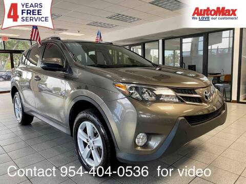 2013 Toyota RAV4 for sale at Auto Max in Hollywood FL