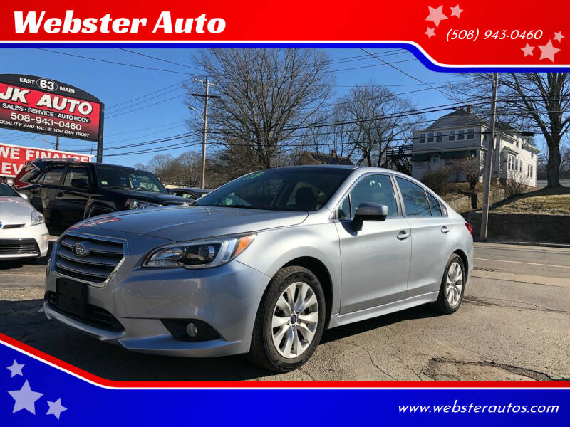 2015 Subaru Legacy for sale at Webster Auto Sales in Webster MA